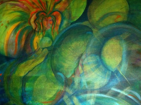 "anahata 18X24"" mm on gallery wrapped canvas, 2012. $150"