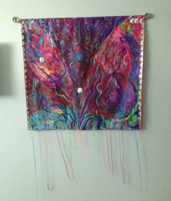 from the sea of sleep 54X36 in including thread length mm on canvas hanging 2016