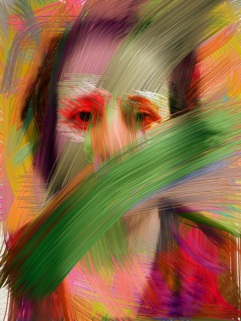 Scars Self-Portrait Run Jane Fox