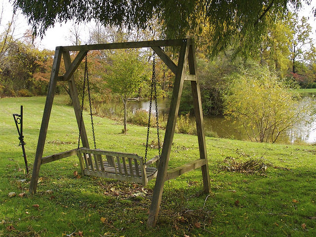 bench swing on formidable woman 4 13 16 cc