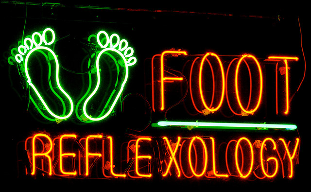 foot reflexology sign via cc