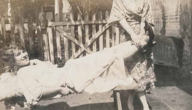 woman holding feet simpleinsomnia via cc