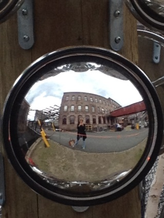 self portrait at MassMoCA