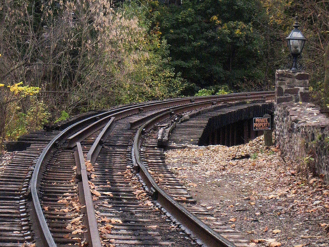 train tracks by karen green via CC